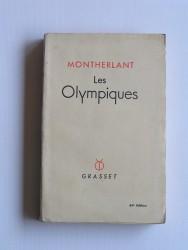 Henry de Montherlant - Les olympiques