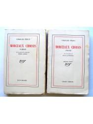 Charles Péguy - Morceaux choisis. Prose et Poésie en 2 volumes
