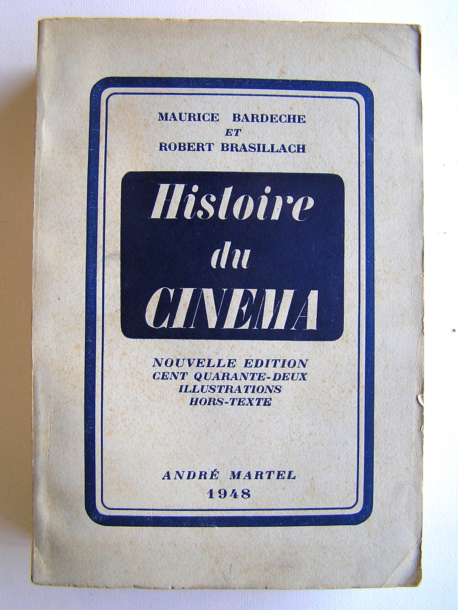 Risultati immagini per Brasillach histoire du cinema