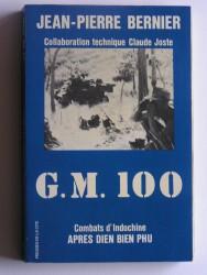 G.M.100. Combats d'Indochine après Dien-Bien-Phu