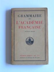 Grammaire de l'Académie Française