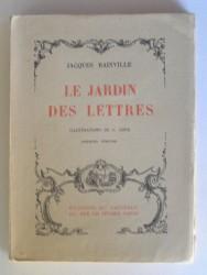 Le jardin des lettres. Premier volume