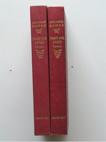 Alexandre Dumas - Vingt ans après. Tome 1 & 2