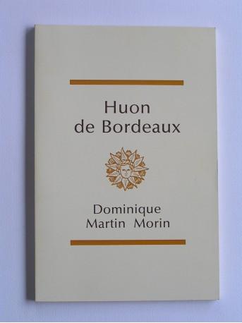 Anonyme - Huon de Bordeaux