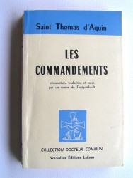 Saint Thomas d'Aquin - Les Commandements