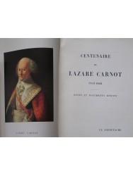 Centenaire de Lazare Carnot. 1753 - 1853