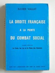 La droite française à la pointe du combat social