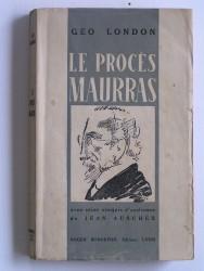 Le procès de Charles Maurras