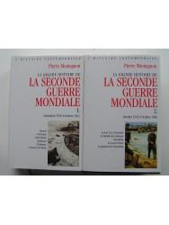 Pierre Montagnon - La grande histoire de la seconde guerre Mondiale. Tome 1et 2. Septembre 1938 - Octobre 1946