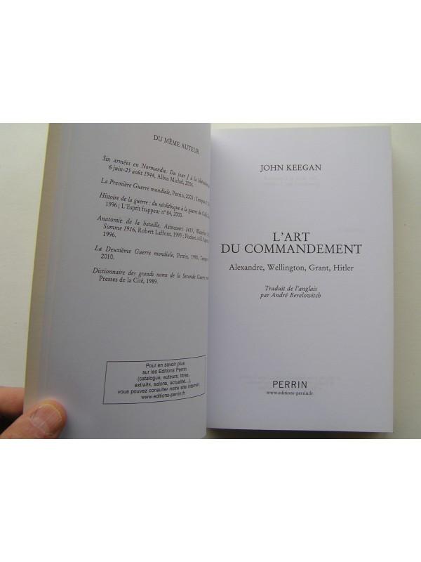 l art du commandement john keegan pdf