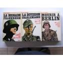Jean Mabire - La trilogie complète sur la tragique aventure des SS français. Les 3 tomes.