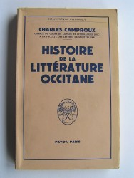 Charles Camproux - Histoire de la littérature occitane