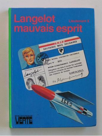 Lieutenant X (Vladimir Volkoff) - Langelot mauvais esprit