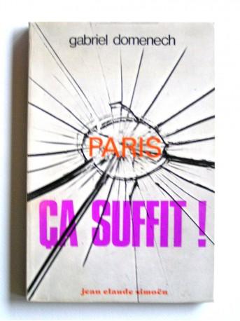 Grabriel Domenech - Paris, ça suffit!