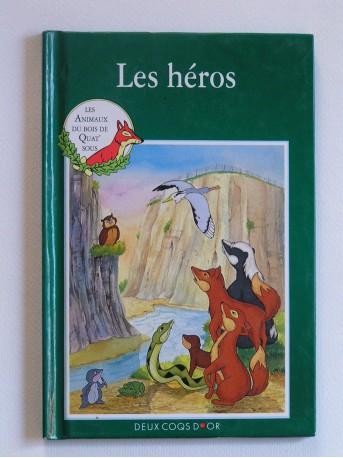 Mary Risk - Les animaux du bois de Quat'sous. Les héros