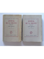 Alfred Fabre-Luce - Journal de la France. 1939 - 1944. Tome 1 & 2