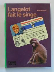 Langelot fait le singe