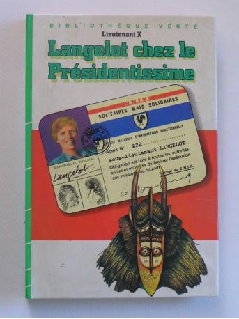 Lieutenant X (Vladimir Volkoff) - Langelot chez le Présidentissime