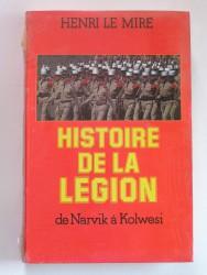 Histoire de la Légion de Narvik à Kolwesi