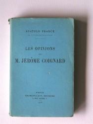 Les opinions de M Jérôme Coignard