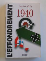 1940. L'effondrement