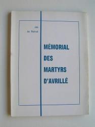 Mémorial des martyrs d'Avrillé
