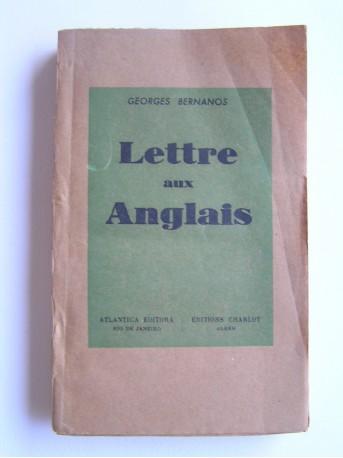 Georges Bernanos - lettres aux Anglais