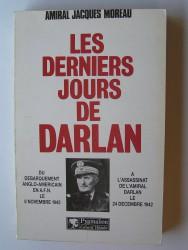 Les derniers jours de Darlan.
