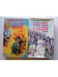 Les passagers pour Alger. Agités d'Alger