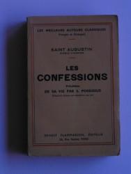 Les confessions. Précédées de sa vie par S. Possidius