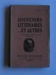 Souvenirs littéraires... et autres
