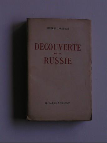 Henri Massis - Découverte de la Russie