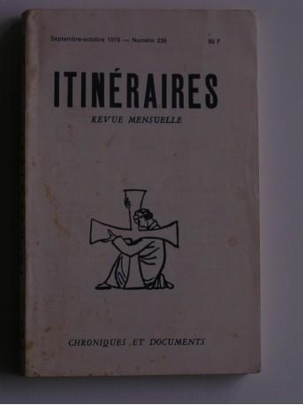 Collectif - Itinéraires n°236. Chroniques et documents
