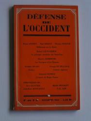 défense de l'occident. Nouvelle série n°26. Novembre 1962
