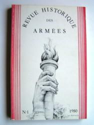 Collectif - Revue historique des armées. N°1 - 1980